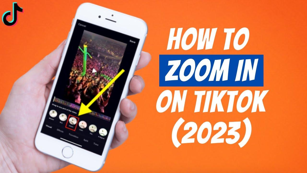 How To Zoom In On Tiktok Videos 2020 Tik Tok Zoom Effect Easy Tutorial Youtube