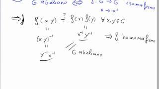 Grupos abelianos e isomorfismos