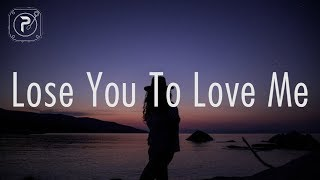 Gambar cover Selena Gomez - Lose You To Love Me (Lyrics)