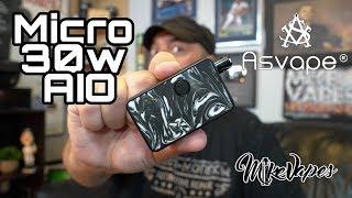 Asvape Micro 30w Pod Vape AIO Review
