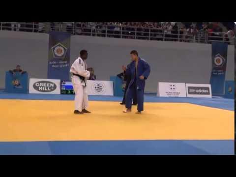 European Judo Championships Cadets Athens 2014 Final -60kg BOUDA Romaric (FRA) - SHANI Ofek (ISR)