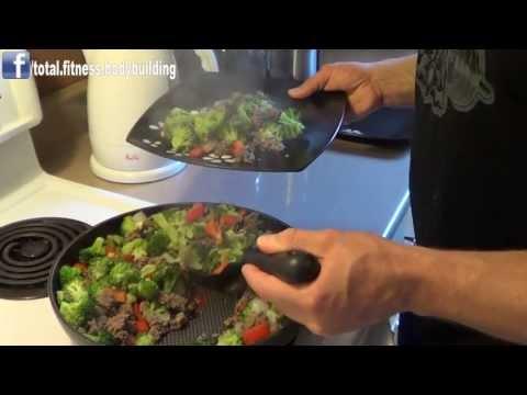 Bodybuilding Meal: Beef & Broccoli Stir Fry