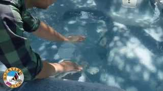 Troubleshooting no flow or low flow of ozone bubbles in a Hot Sprin...