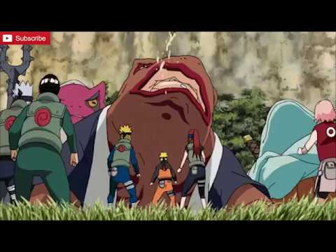 Minato and Naruto Vs. Gamabunta Full Fight - YouTube