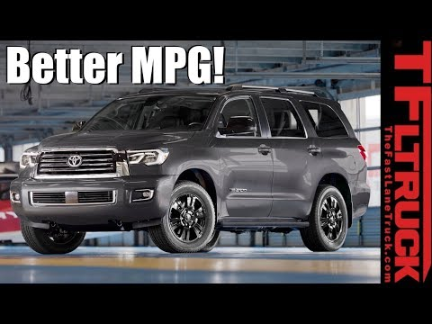 Canucks & Trucks: Is There a Way to Improve Toyota Sequoia MPG? City Commute