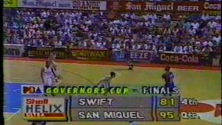 SAMBOY LIM Awesome Game - San Miguel Beer vs Swift