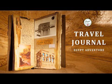 TRAVEL JOURNAL GUIDE - EGYPT ADVENTURE