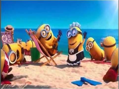Minions in paradise — cartoon. Миньоны — мультфильм. Наше всё!