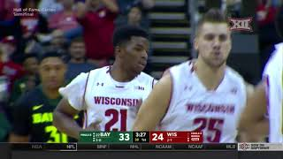 Wisconsin vs Baylor Men's Basketball Highlights