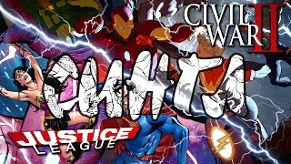 Сингл - Justice League #5 и Civil War II #5