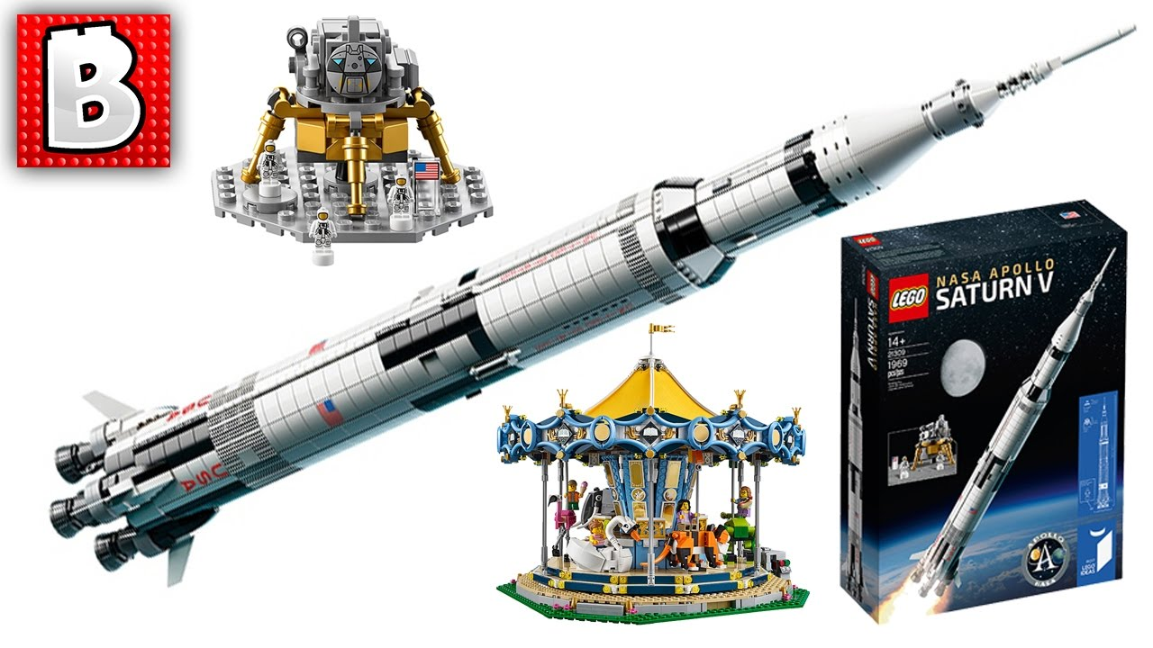 Lego Ideas Nasa Apollo Saturn V 21309 Official Images Ninjago Set