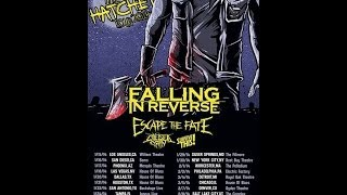 Monday Music Recap: 11/04/2013 Falling In Reverse & Escape The Fate Tour!