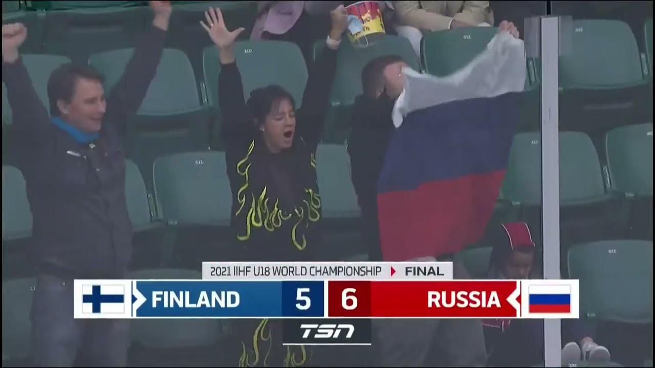 6:5! Сборная России выходит в финал ЮЧМ. Невероятный матч против Финляндии