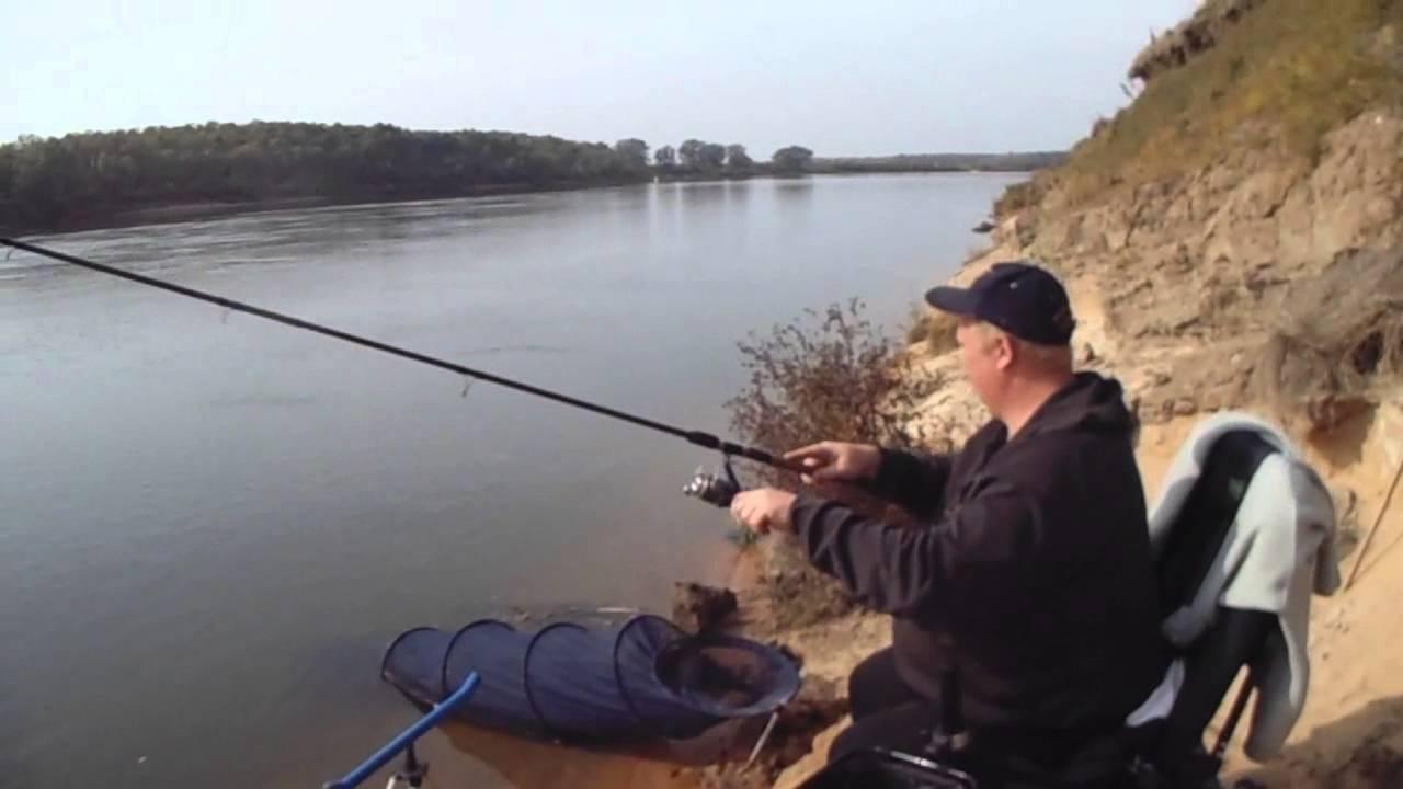 фидерная снасть рыбалка на оке видео