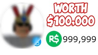 THIS ROBLOX ACCOUNT COSTS $100,000