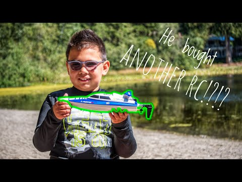 He Bought a RC Boat - Helion Lagos Sport Unboxing and Test Run