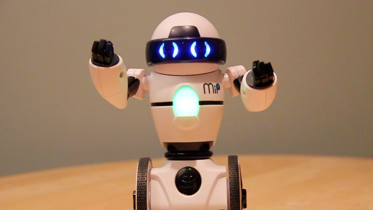 Mip Self Balancing Robot Friend By Wowwee Hands On Review Youtube