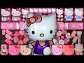 Gambar cover Pink Hello Kitty Slime | Mixing Random Things into Slime | Satisfying Slimes #206