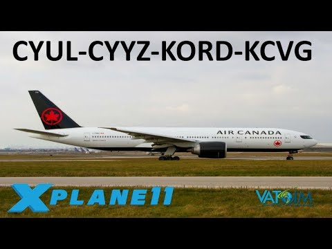 X-Plane 11 | A Day of Heavies!?! | B777 B767 | VATSIM | Montreal, Toronto, Chicago!!