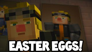 """Minecraft Story Mode - Episode 6 - EASTER EGGS! """"A Portal To Mystery"""""""