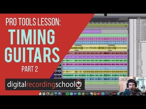 How To Quantize Guitars Quickly in Pro Tools - DigitalRecordingSchool.com