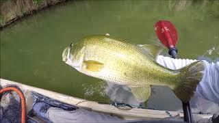 The Beauty of Exploring New Waters***Kayak Bass Fishing***