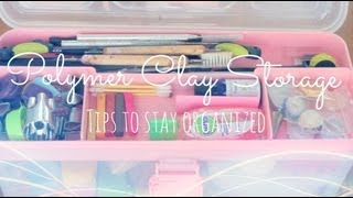 Polymer Clay Storage | How to stay organised ✌ Thumbnail