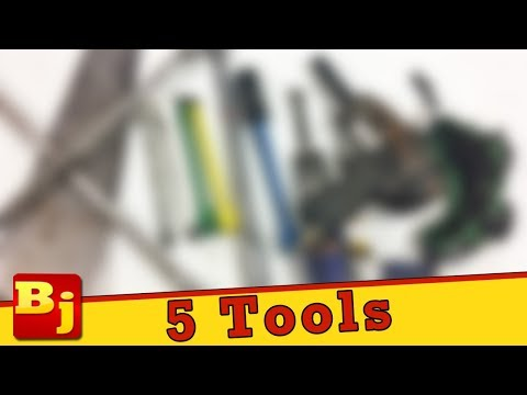 5 Tools You May Find Collecting Dust!