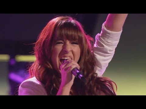 Christina Grimmie sings Wrecking Ball The Voice Highlight Blind Auditis