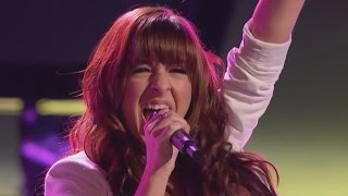 Repeat youtube video Christina Grimmie sings 'Wrecking Ball' The Voice Highlight Blind Auditions
