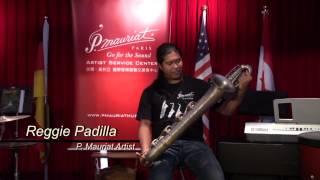Reggie Padilla  - P.Mauriat Baritone Saxophone (PMB-300DK)