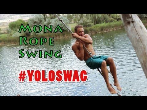 Mona Rope Swing #YOLOSWAG