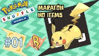 Pokémon Shuffle Mobile - MARATÓN #1 | Mi primera vez!