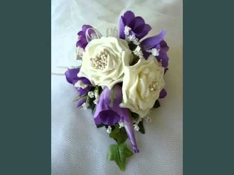 Peach Garden Rose Boutonniere wedding boutonnieres and corsage purple roses | corsage purple