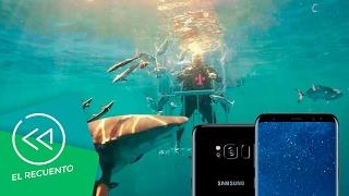 Samsung Galaxy S8 y su unboxing bajo el agua con tiburones | El recuento