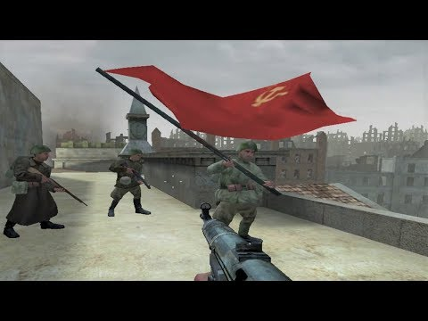 WW2 - Red Army Capturing the Reichstag - Top of the Reichstag - Berlin - Call of Duty