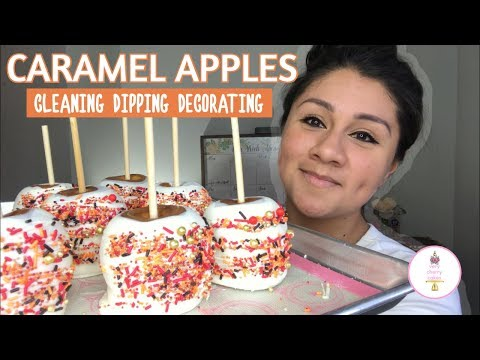 CARAMEL APPLES: HOW TO FIX BUBBLES, BAD CHOCOLATE, AND CARAMEL