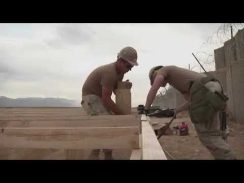 U.S. Navy Seabees Build for the Fight