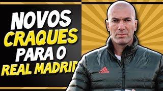 VEJA A LISTA REFORÇOS DE ZIDANE NO REAL MADRID - Transferências 2019