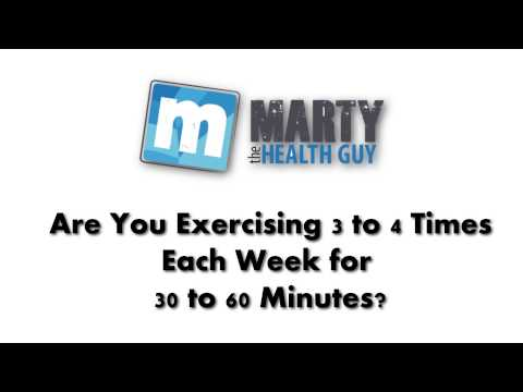 Marty The Health Guy Helps You Fight Heart Disease Due To Physical InActivity!