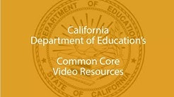 Common Core Implementation Plan for California