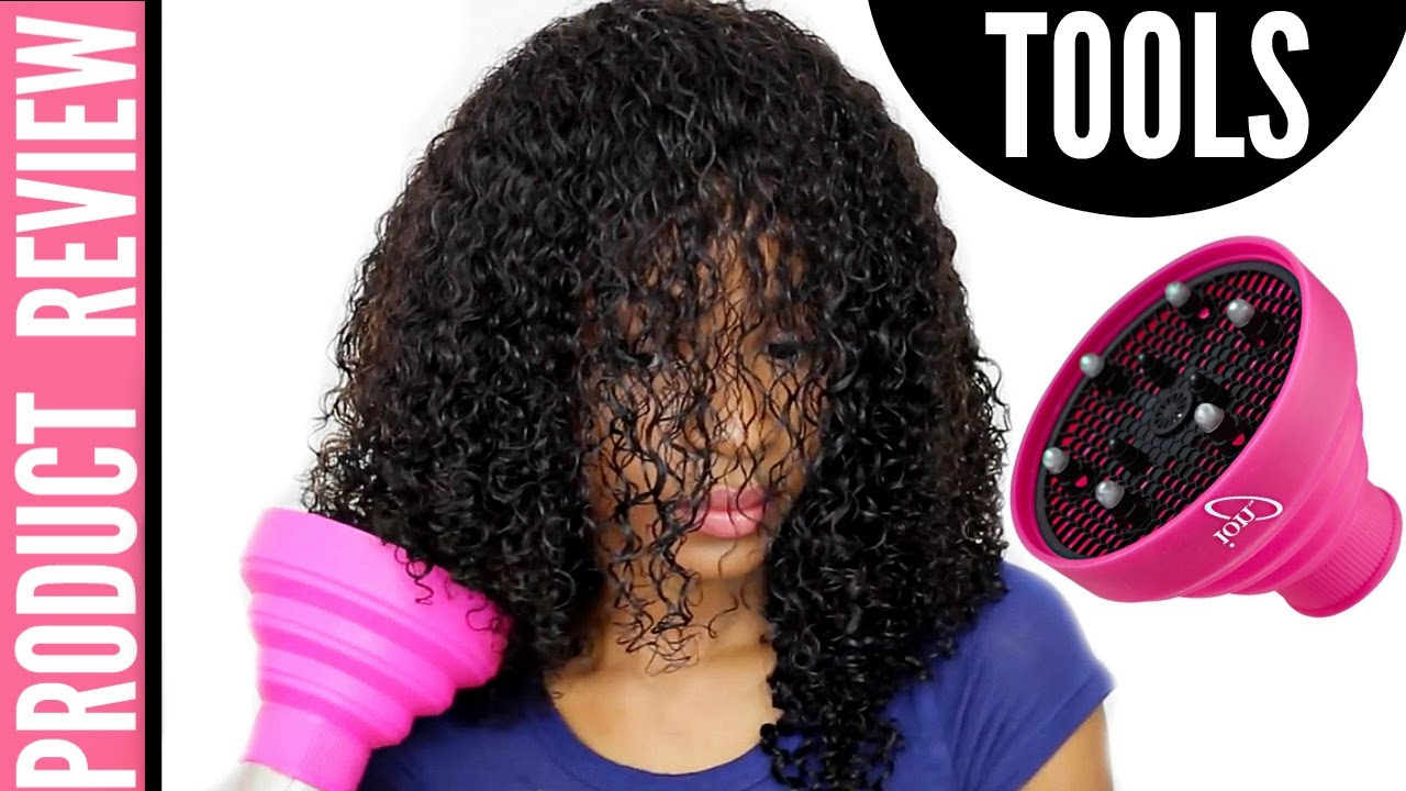Curly Hair Diffuser Under 15 Ion Diffuser Review YouTube