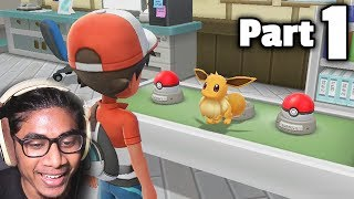 MY DUDES I'M CHEATING ALREADY LOL   Pokémon Let's Go Pikachu/Eevee Walkthrough (Part 1)