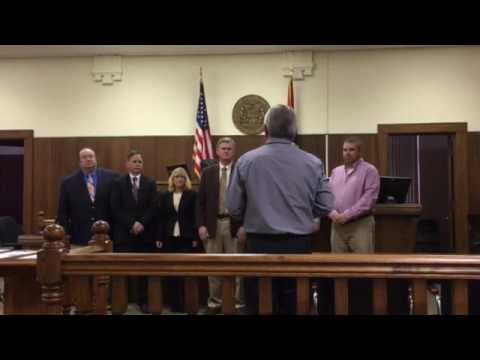New Madrid County Office Swearing In