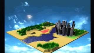 Sim City 2000 Intro (Playstation 1)