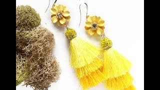 How-To Jewelry Making Video: Get Happy Earrings