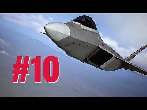 皇牌空战7 - 故事流程#10 任务十一:F22-猛禽轰炸航母 ACE COMBAT 7 - MISSION 11 F-22 RAPTOR