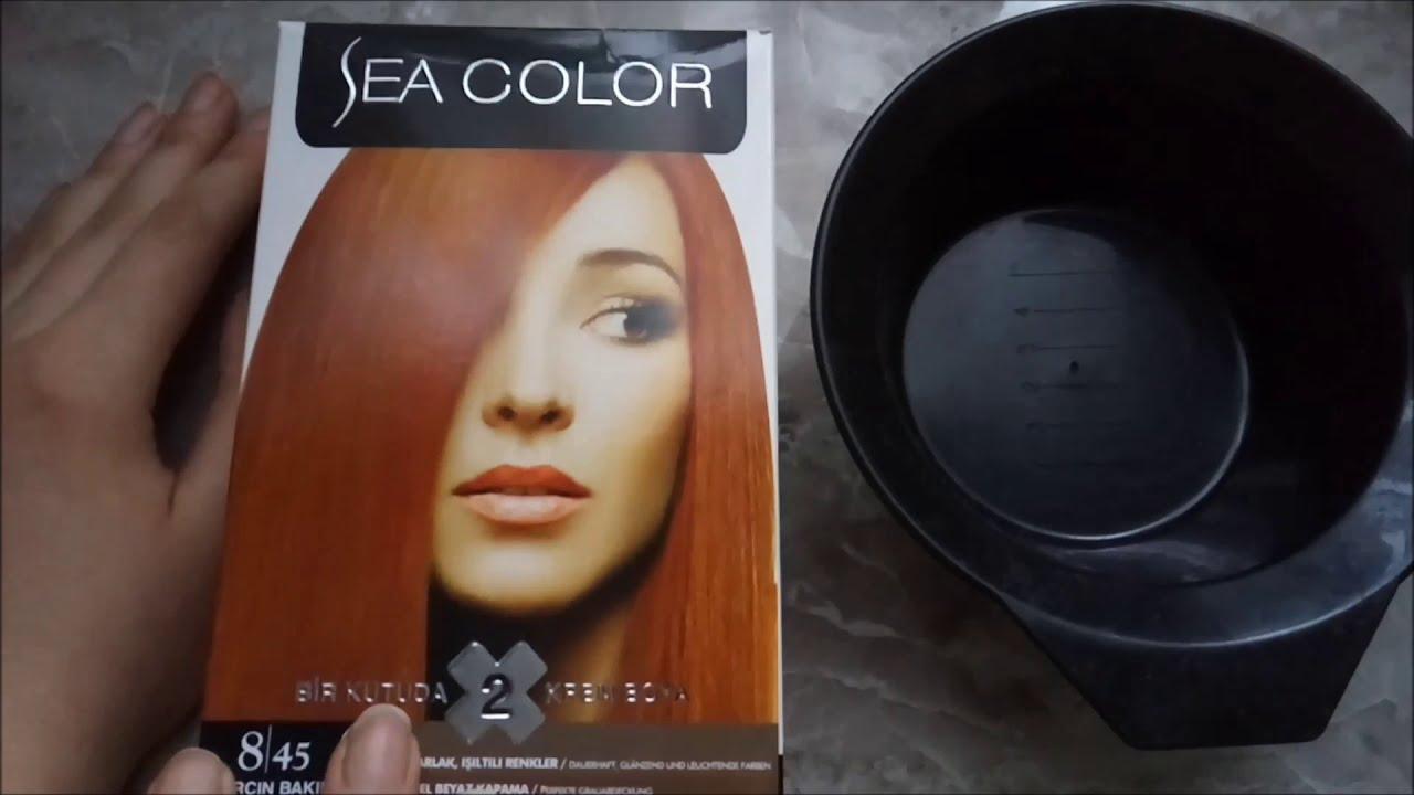 Sea Color 8.73 Karamel  #seacolor  #873karamel  #evdesaçboyama  #uygunfiyatlısaçboyama