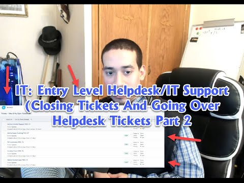 IT: Entry Level Helpdesk/Desktop Support (Troubleshooting Real Life Tickets Part2)