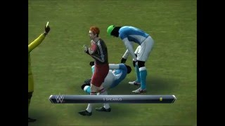 PES 2013 Disney Sports Soccer vs WWE